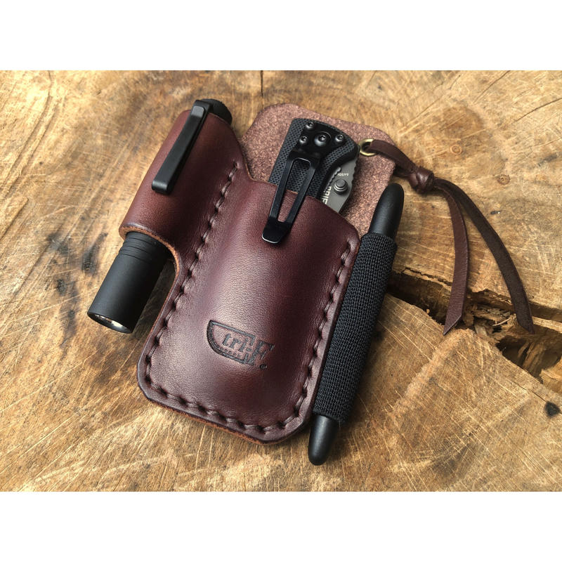 Leather EDC Pocket Organizer M