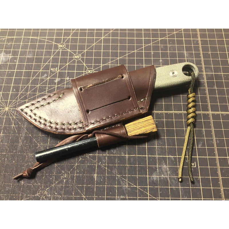 ESEE knives IzulaⅡmulti mount Leather Sheath