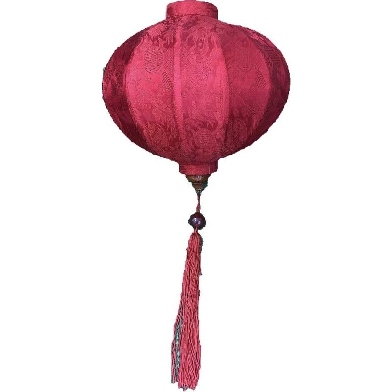 ベトナムランタン 丸形 Mサイズ 赤色