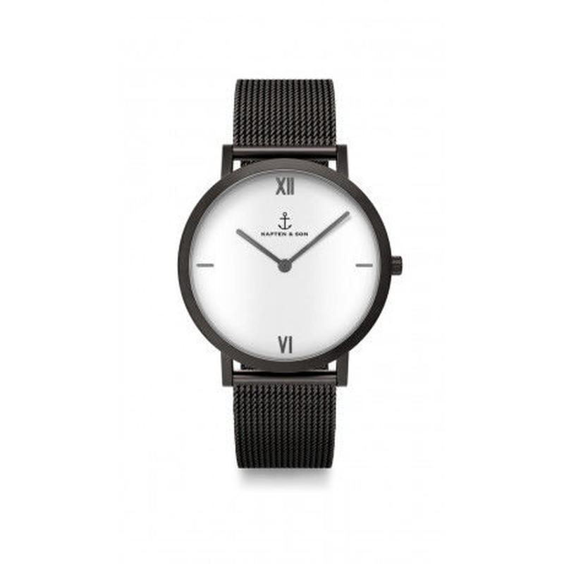 KAPTEN&SON:キャプテン&サン《Pure Lux Mesh》腕時計