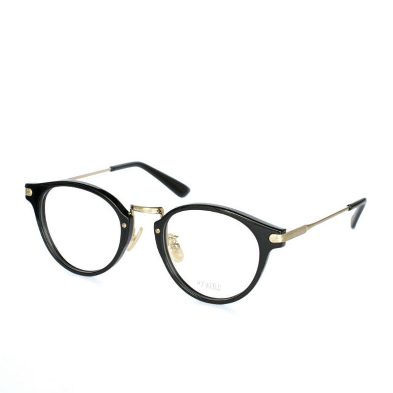 ayame i wear design:アヤメ 《GENERAL col.BK》眼鏡 フレーム