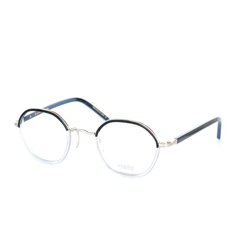 ayame  i wear design:アヤメ 《HEX col.BKC》 眼鏡フレーム