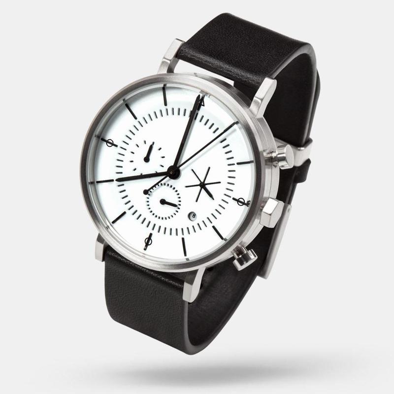 【再入荷】AARK collective:アーク コレクティブ 《EON-SILVER:イオン-シルバー》 腕時計 リストウォッチ 2015新作 AARK-V2004SIL