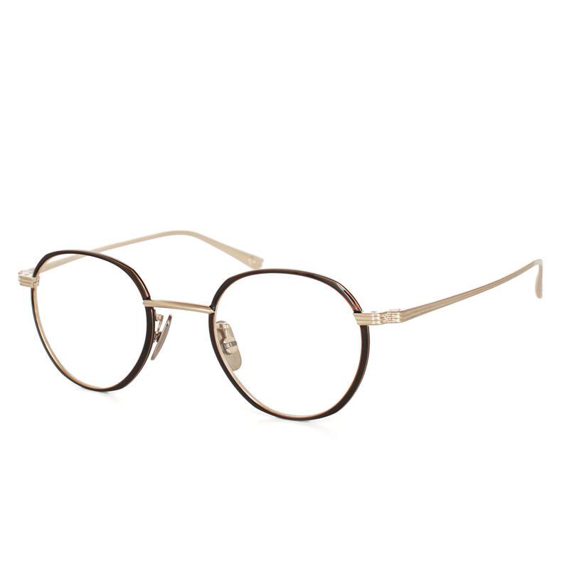 OG×OLIVER GOLDSMITH:オージーバイオリバーゴールドスミス《CUT two 44 Col.508-3》眼鏡 フレーム