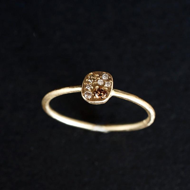 JOE SCHMOE:ジョーシュモウ 《K10YG  ダイヤモンド リング》A018172AR011