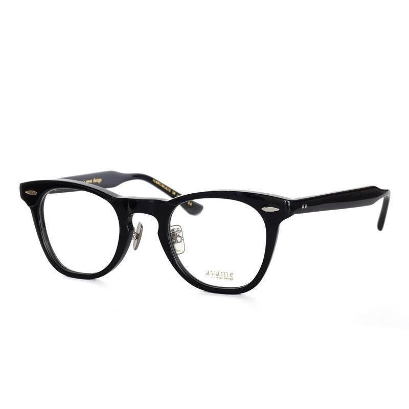 ayame i wear design:アヤメ 《BROWER col.BK》眼鏡 フレーム