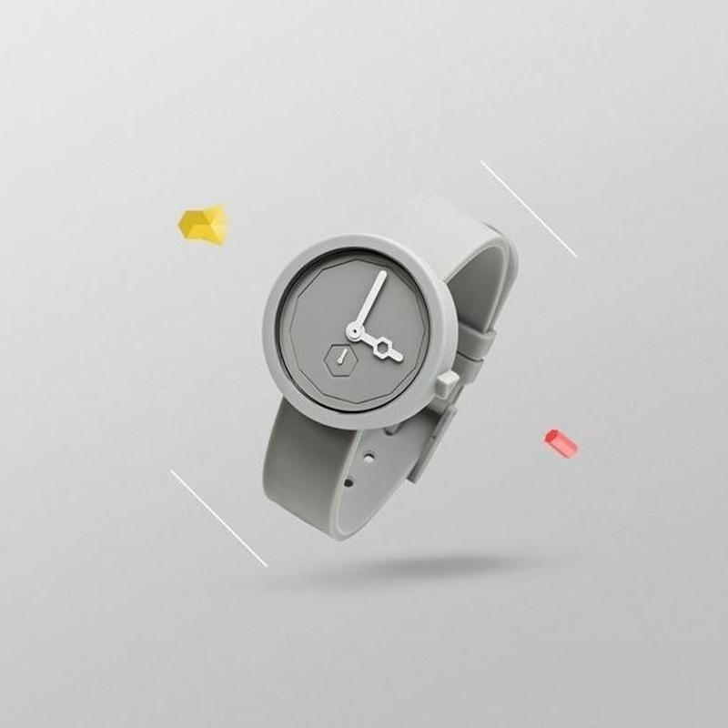 AARK collective:アークコレクティブ 《Classic GREY LEAD》 時計