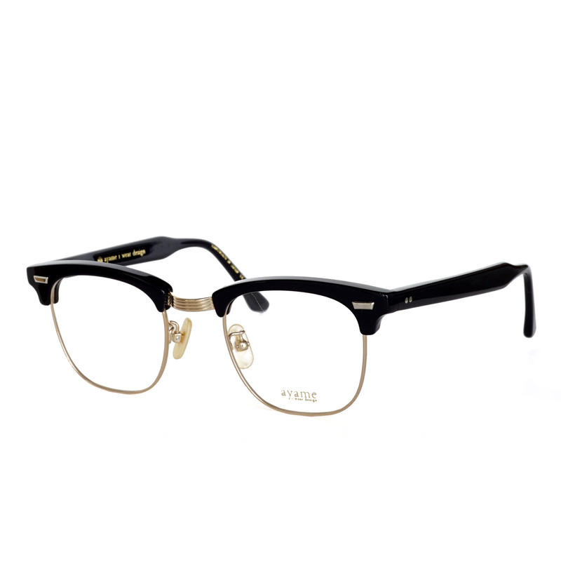ayame i wear design:アヤメ 《SIRMONT col.BK》眼鏡 フレーム