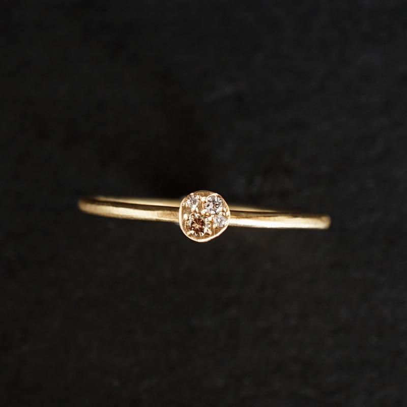 JOE SCHMOE:ジョーシュモウ 《K10YG  ダイヤモンド リング》A018172AR007