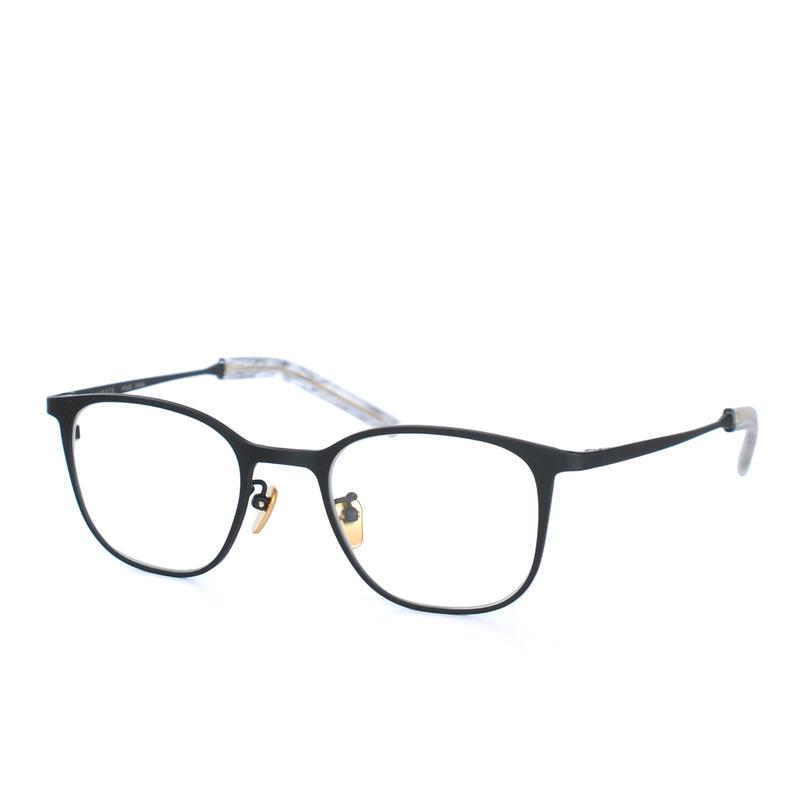 I.ENOMOTO:アイ エノモト《IE001 Col.BK2》眼鏡 フレーム