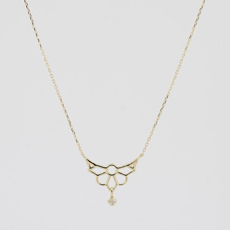 sowi:ソーイ 《K10YG  ノートルダム ダイヤモンド ネックレス》309N0098-TY