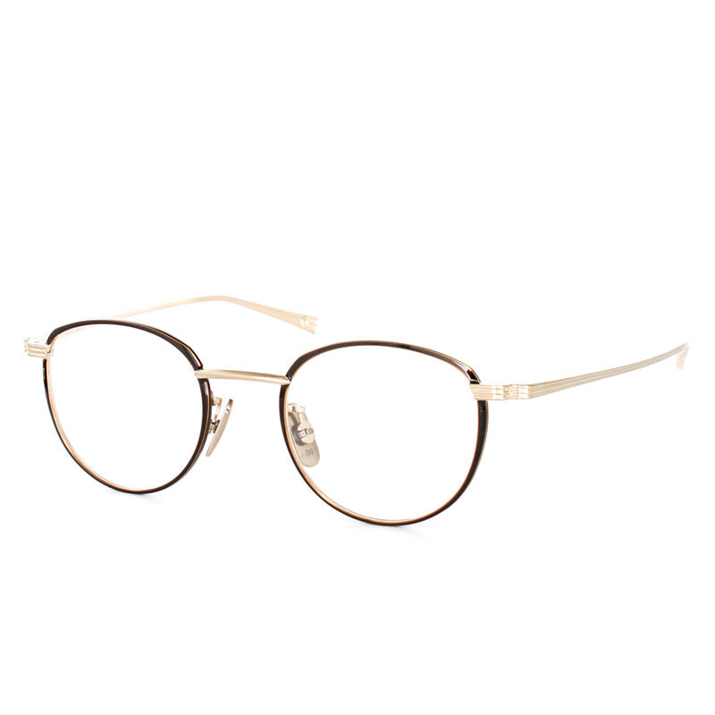 OG×OLIVER GOLDSMITH:オージーバイオリバーゴールドスミス《CUT three 44 Col.508-3》眼鏡 フレーム