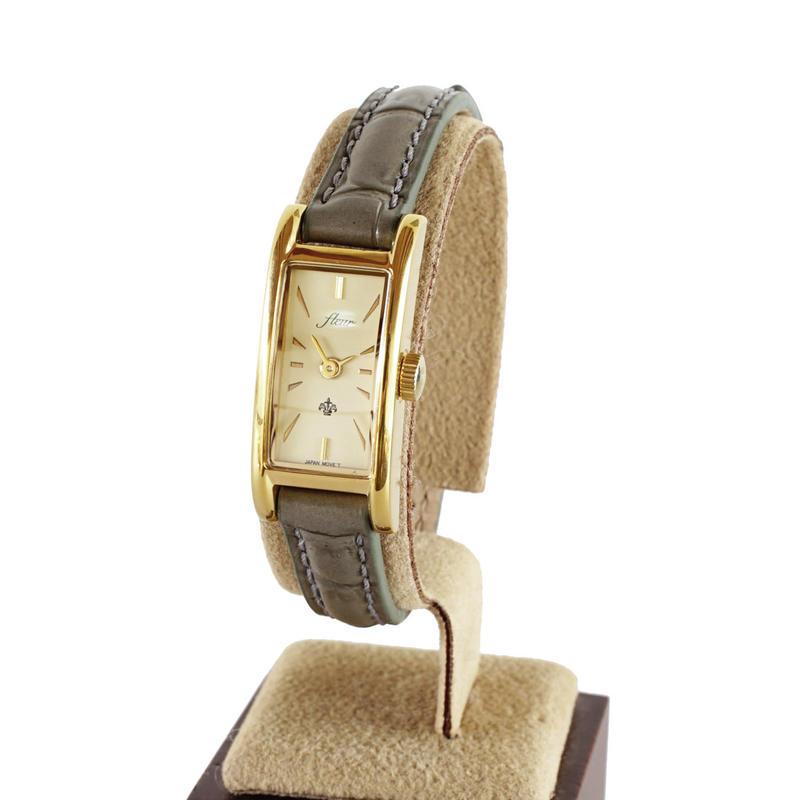 fleur:フル―ル 《F005 - GOLD/GRAY》腕時計 限定カラー
