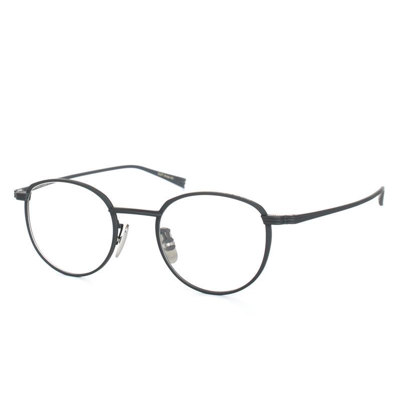 OG×OLIVER GOLDSMITH:オージーバイオリバーゴールドスミス《CUT three 44 Col.501-2》眼鏡 フレーム