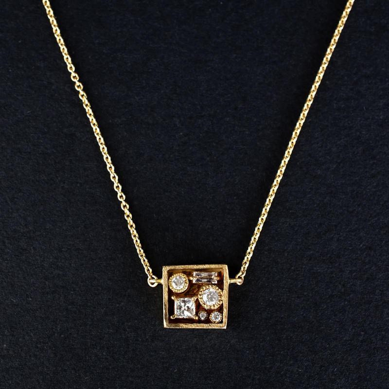 JOE SCHMOE:ジョーシュモウ 《K10YG  ダイヤモンド ネックレス》A013142AN011