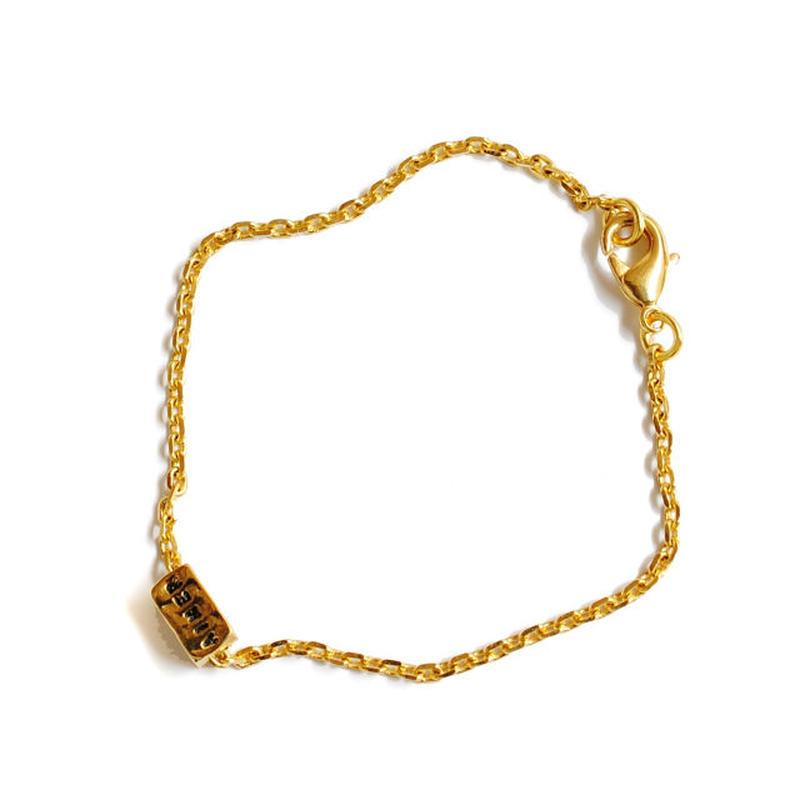 SERGE THORAVAL:セルジュトラヴァル《 AIMER REVER RIRE Bracelet:G17 619》 ブレスレット シルバー ゴールド