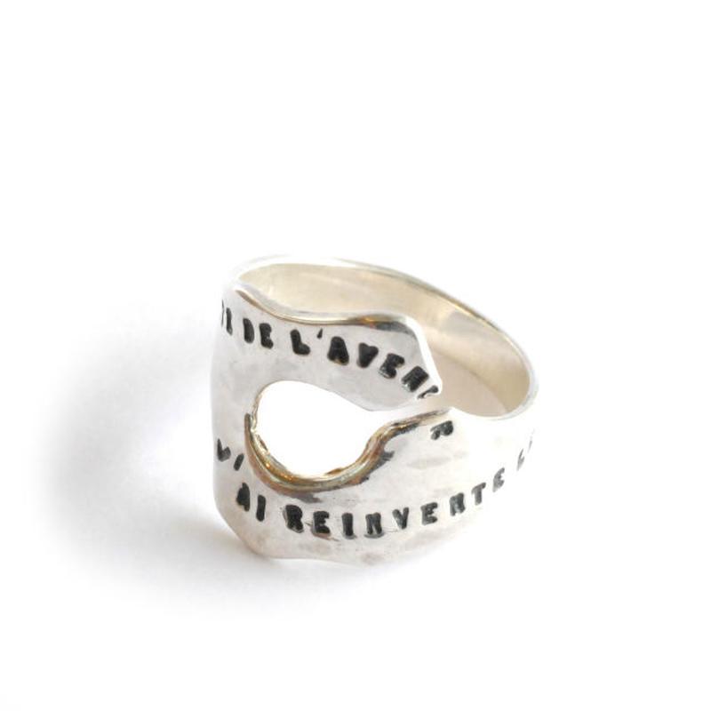 SERGE THORAVAL:セルジュトラヴァル《Aragon Ring:413 R119》リング SILVER