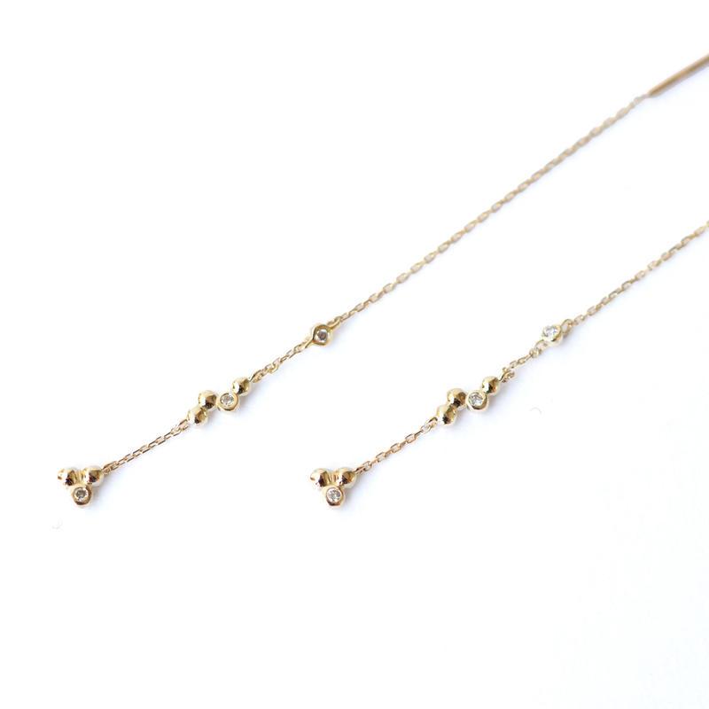 sowi ダイヤモンド ピアス 309E0197-1-TY
