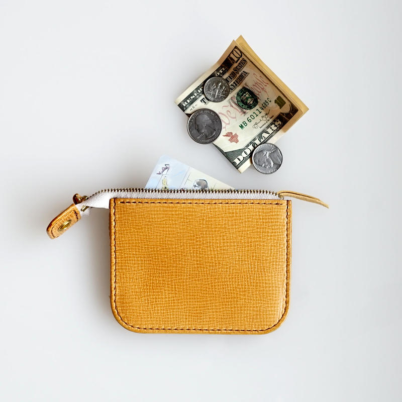 RHYTHMOS:リュトモス《Zip S ジップ エス Col.Citron》 ミニ財布 ※限定モデル