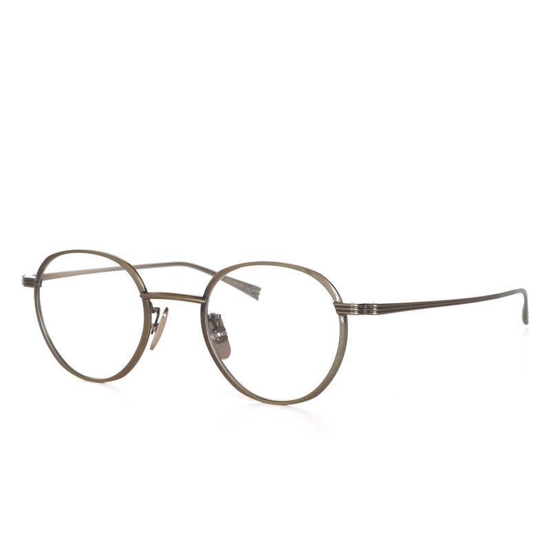 OG×OLIVER GOLDSMITH:オージーバイオリバーゴールドスミス《CUT two 44 Col.505-2》眼鏡 フレーム