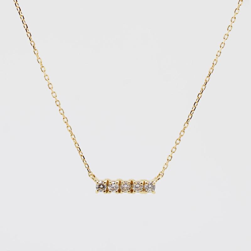 sowi:ソーイ 《K18YG ダイヤモンド ネックレス》302N0033-TY