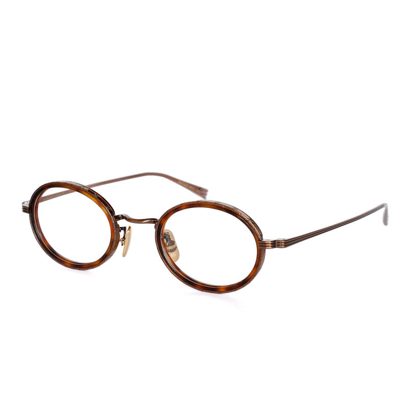OG×OLIVER GOLDSMITH:オージーバイオリバーゴールドスミス《BUTLEY 44-2 Col.038-4》眼鏡 フレーム