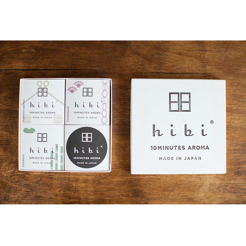 hibi 和の香り3種ギフトボックス(兵庫県)