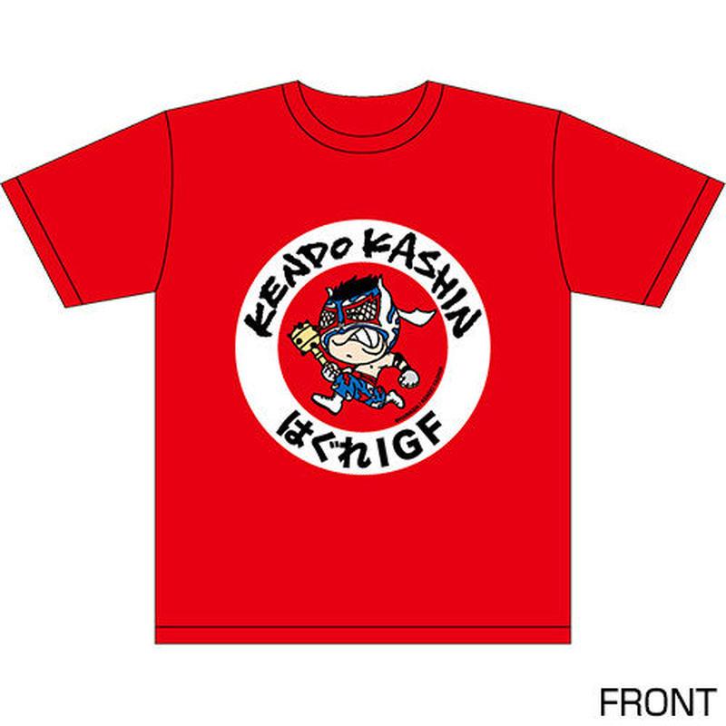 ケンドー・カシン キャラクターTシャツ Designed by HARIKEN 【RED】