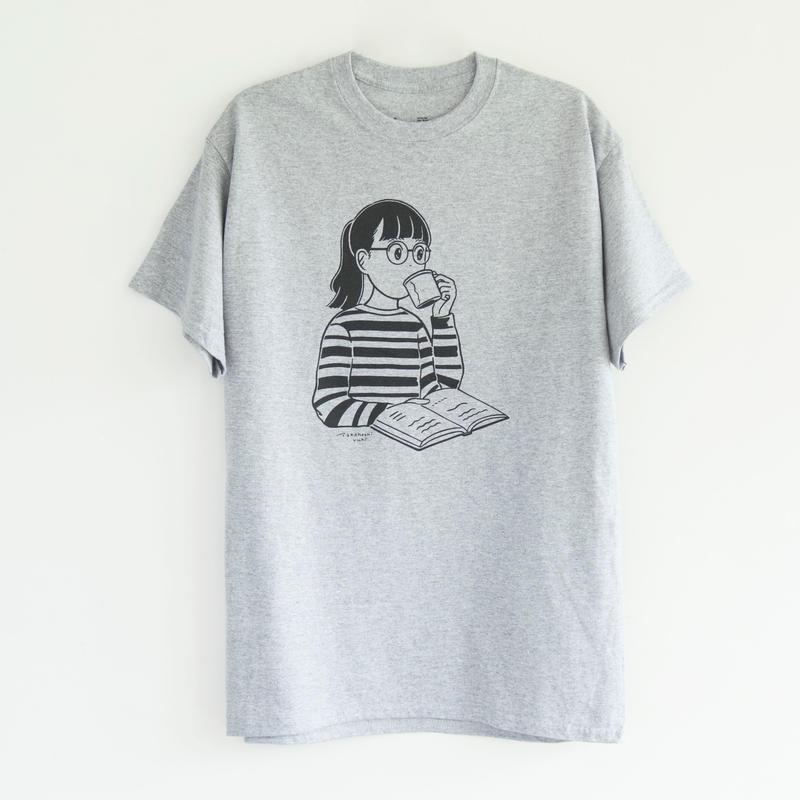 T SHIRTS    OPT GIRL /  illustration : Takahashi Yuki