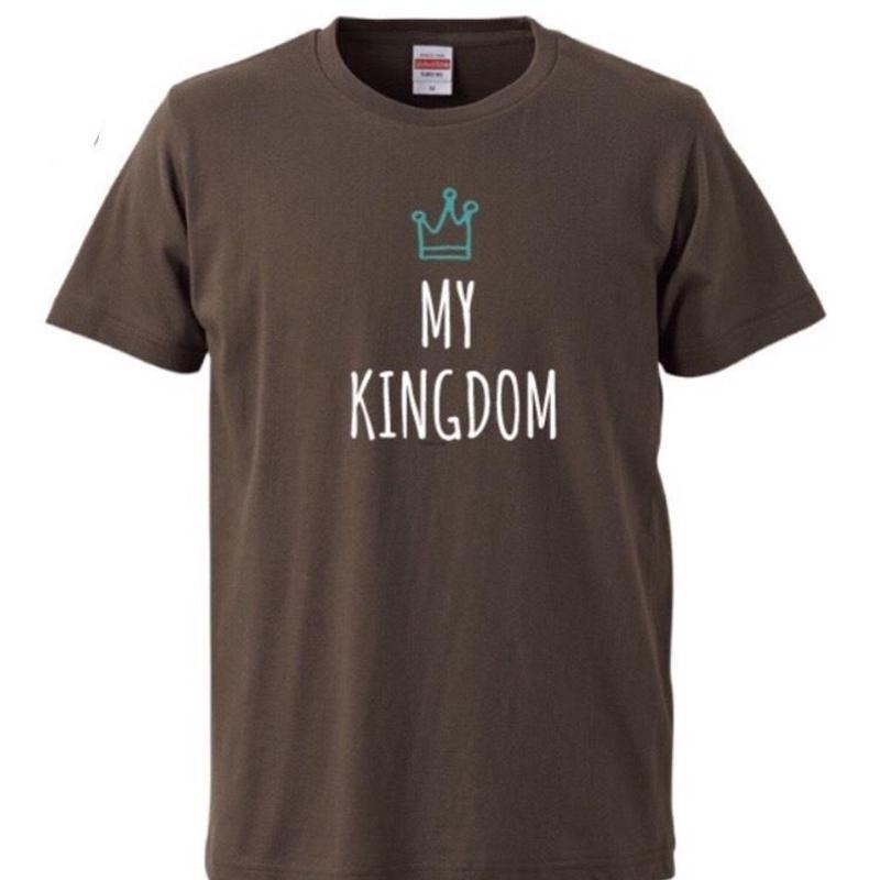 MY KINGDOM Tシャツ(チャコール)