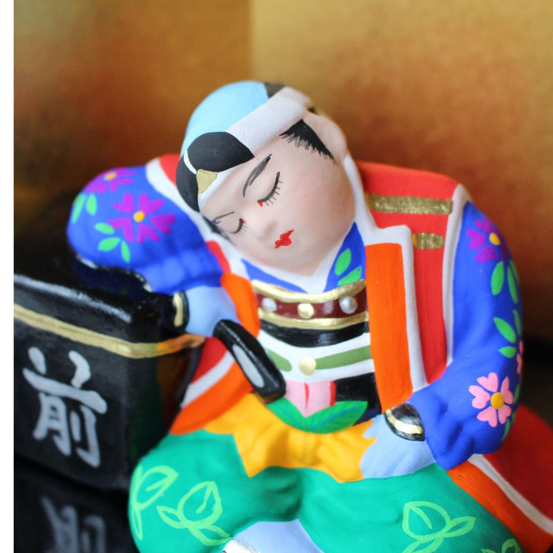 節句人形 眠り桃太郎