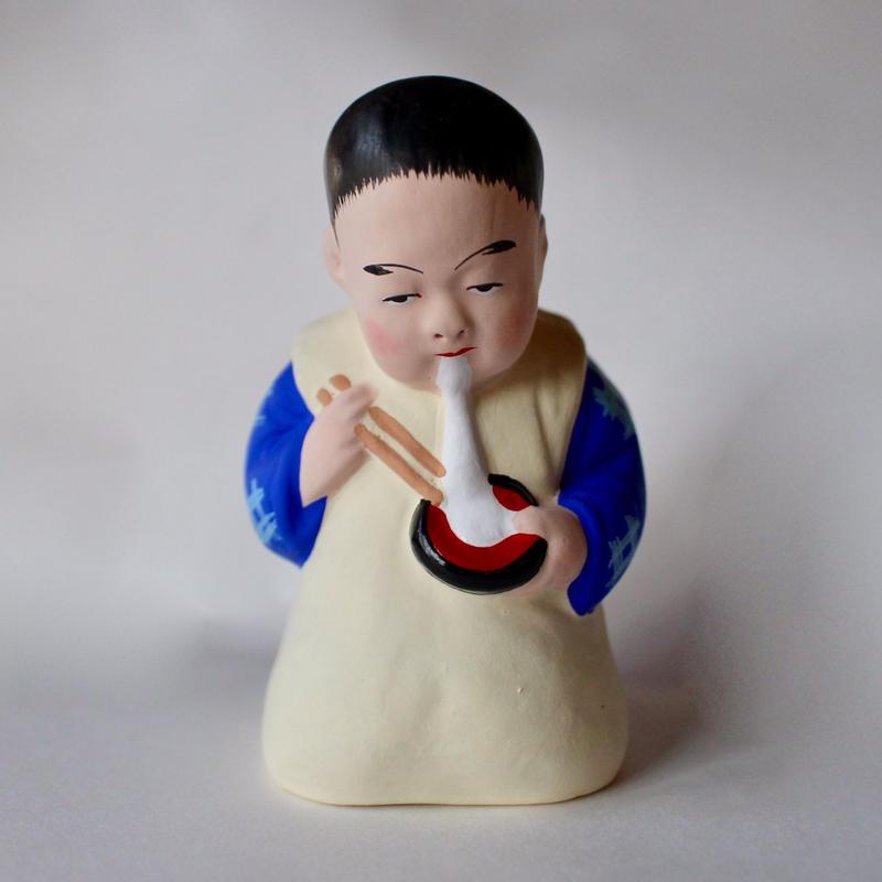 餅食い童人形