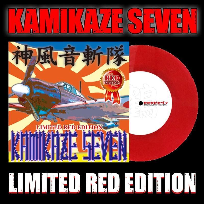 Kamikaze Seven (7' Vinyl) (Limited Red Edition)