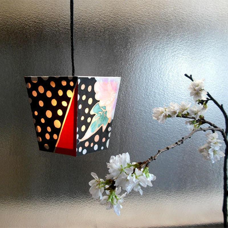 ねぷた柄吊り灯籠(貼り付け型)