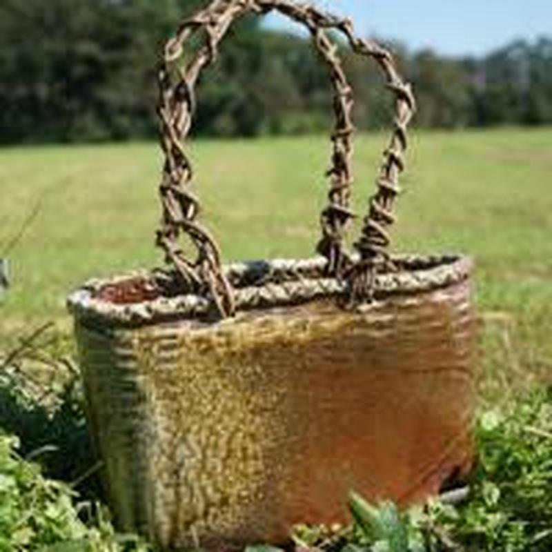 【大型】網かごバッグ風花瓶