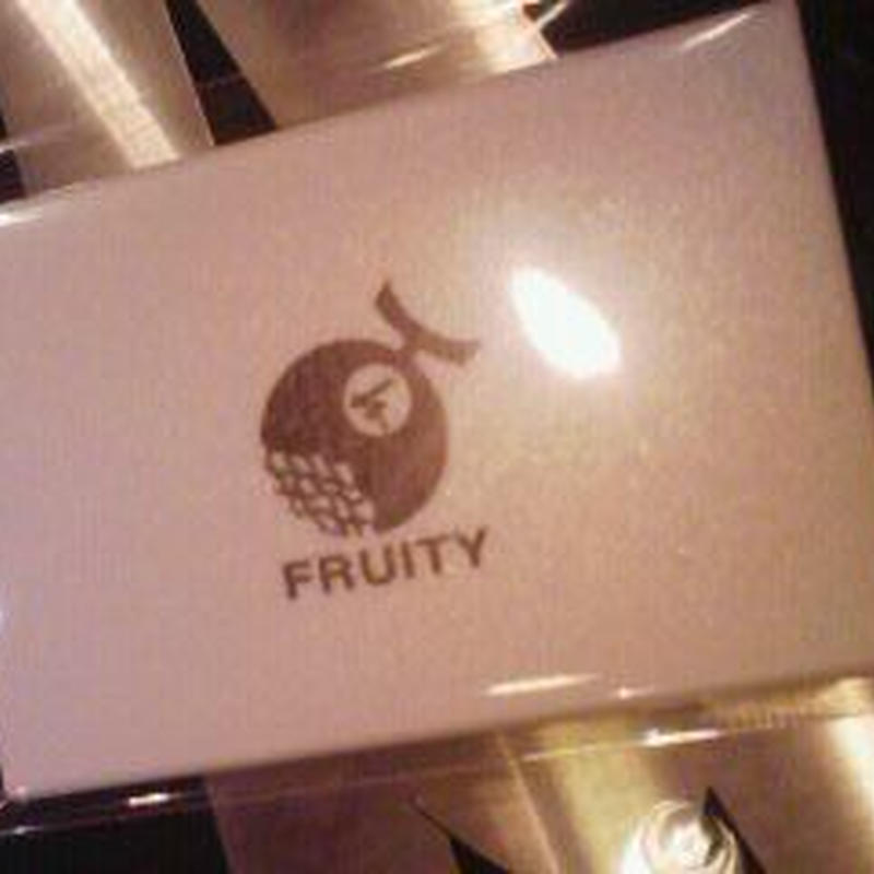 FRUITY カードケース ハンドミラー