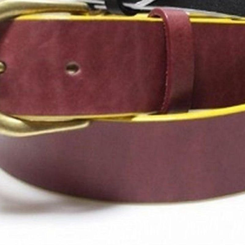 オリジナルJOHN SIDE BI-COLOUR BELT