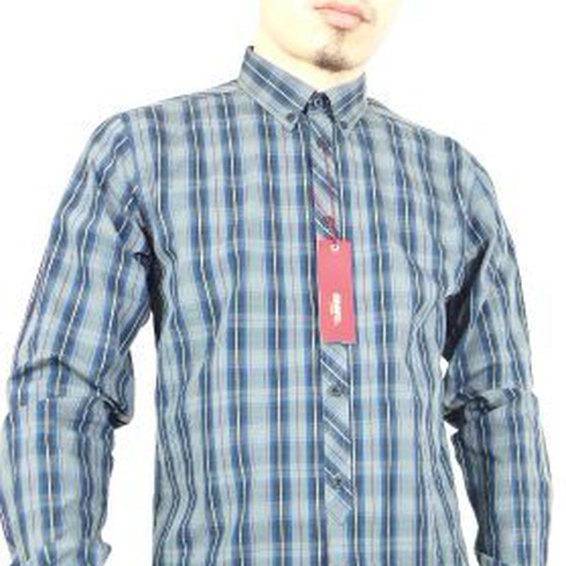 メルクロンドンBELLEVUE チェックシャツ