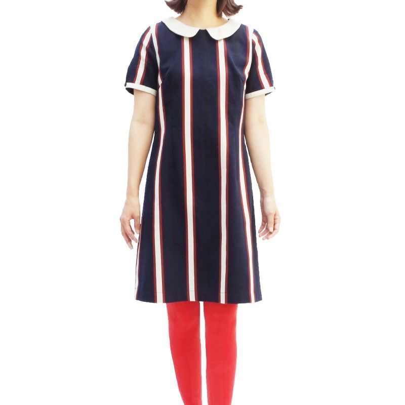 オリジナルJOHN STRIPE ONE-PIECE