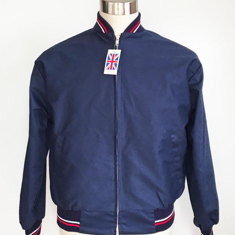 英国製モンキージャケット〈ネイビー/ベージュ/ブラック〉