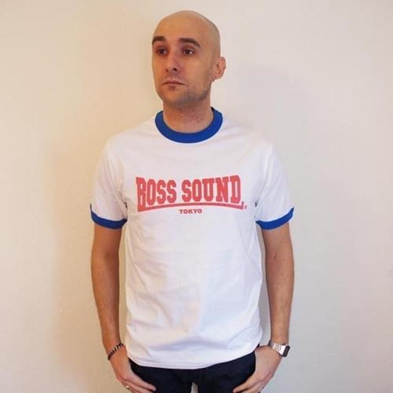 ネバートラスト BOSS SOUND TOKYO リンガーTシャツ