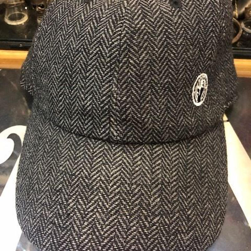 ネバートラスト BREND HARRIS TWEED CAP