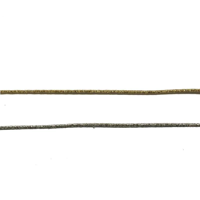 金糸巻き/銀糸巻きワイヤー 72cm (1本入/1袋)