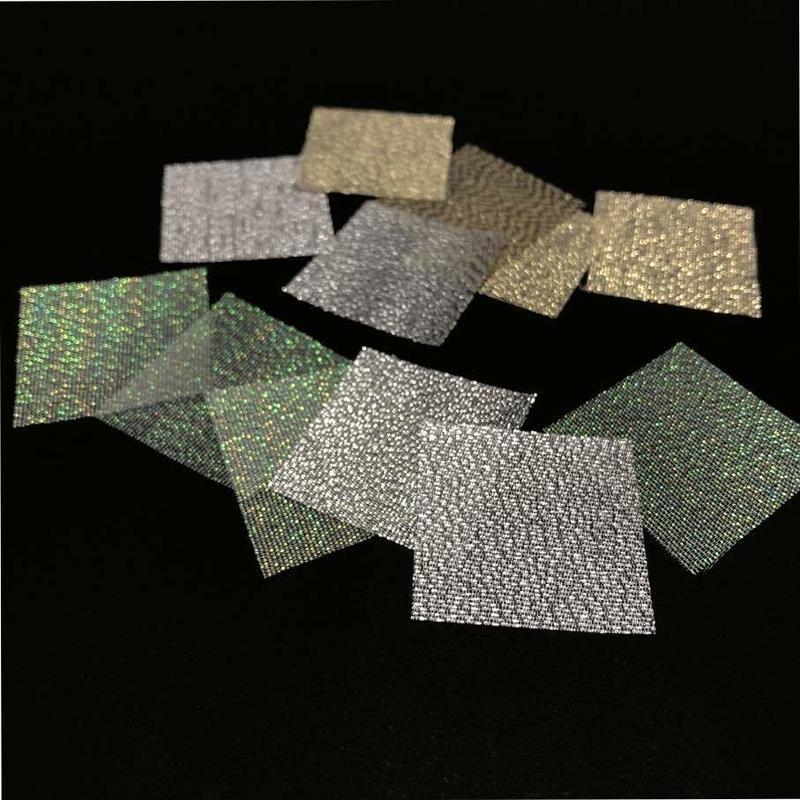 プリズム 固糊  シルバー 巾約92cm×長さ約100cm