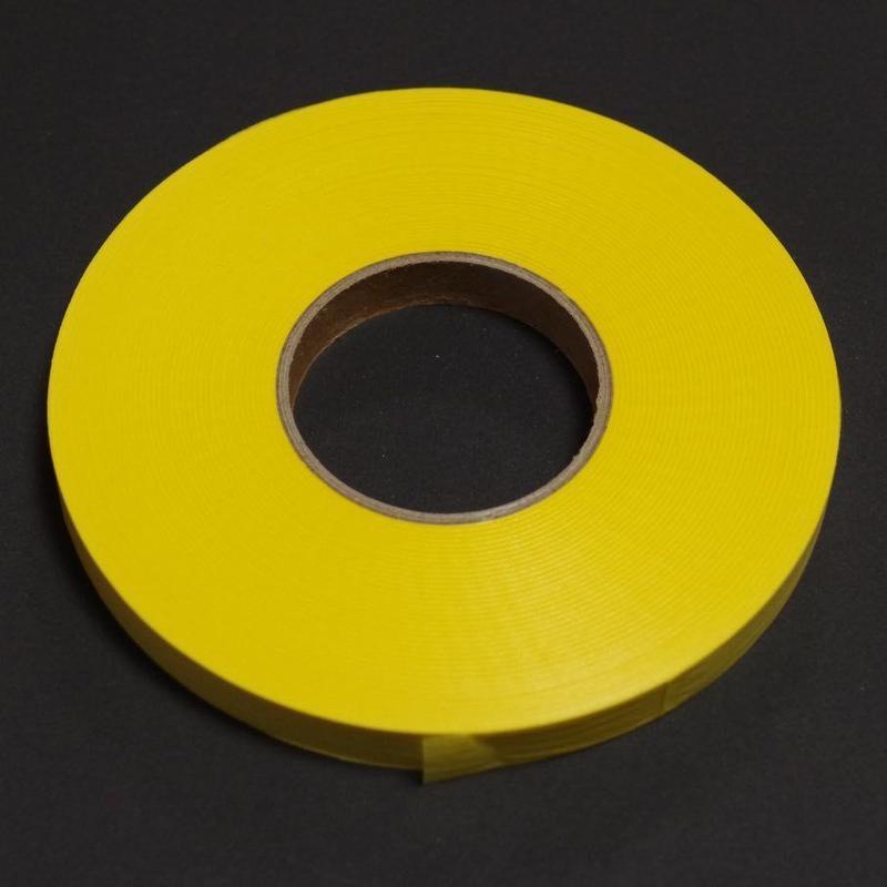 紙テープ 9mm【イエロー】  1巻/1袋