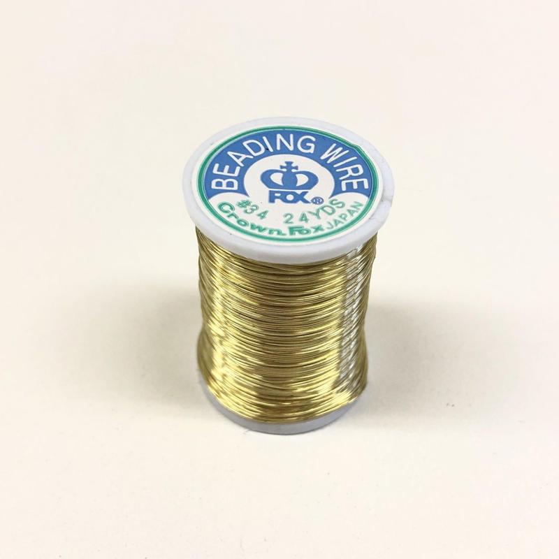 糸針金ワイヤー #34 ゴールド 1巻