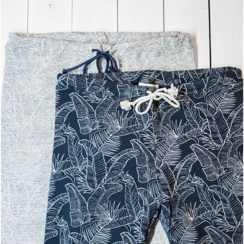 Botanical Leaf Leggings Pants