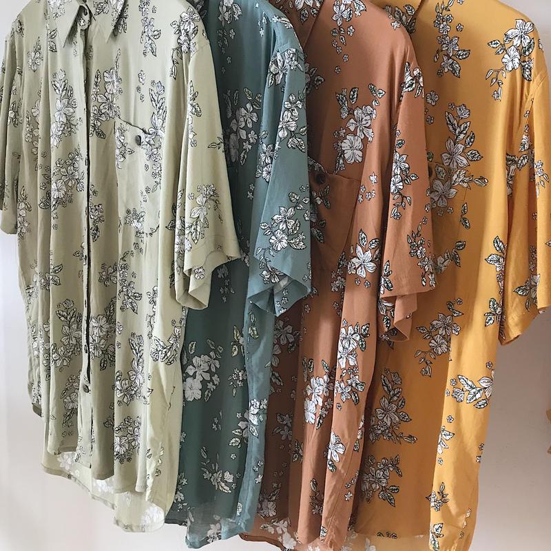 Floral Men's Shirt
