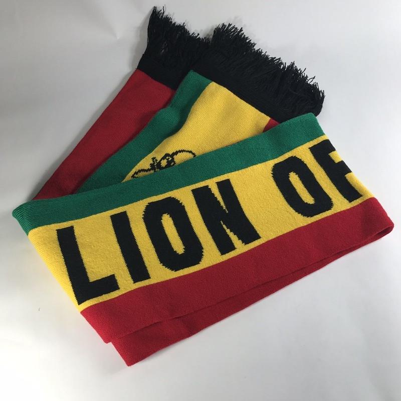 ジャマイカ直輸入!LION OF JUDAH マフラー