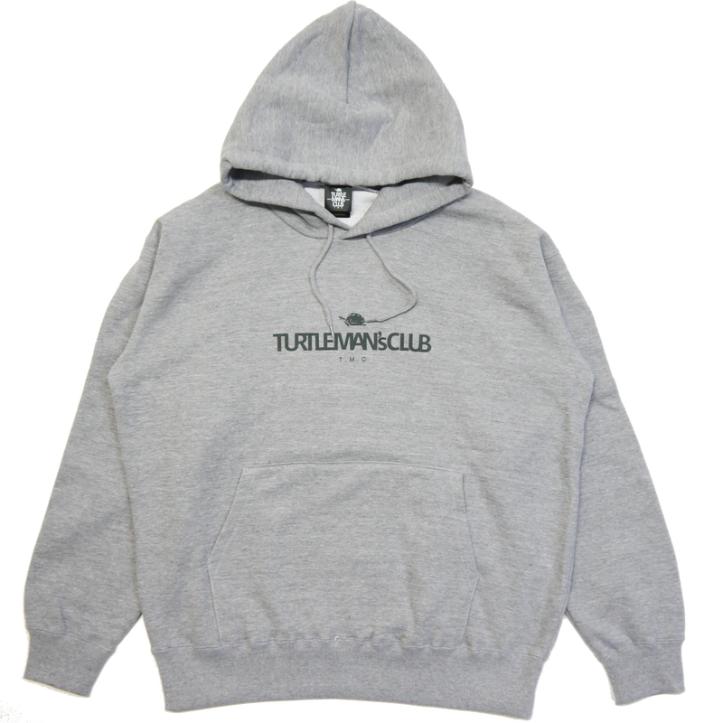 TURTLE MAN's CLUB HOODIE [GRAY]